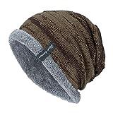 JUTOO Vente de Liquidation Chapeau tricoté Unisexe Couvrant la tête de Chapeau de Bonnet Chapeau Chaud de Mode en Plein air