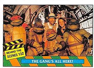 Jim Henson trading card Teenage Mutant Ninja Turtles 1990 Topps #132