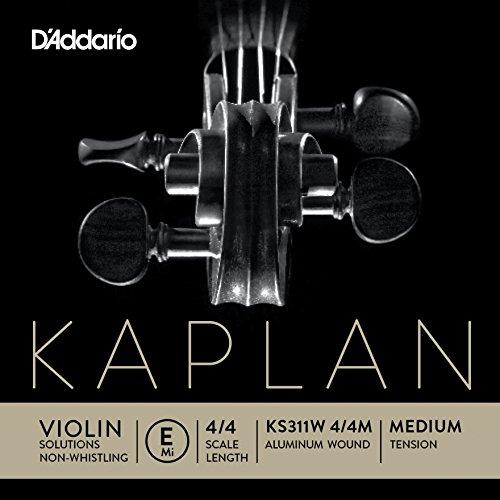 D'Addario KS311W-4/4M Kaplan Violinen Einzelsaite 'E' Aluminium auf Stahl 4/4 Medium