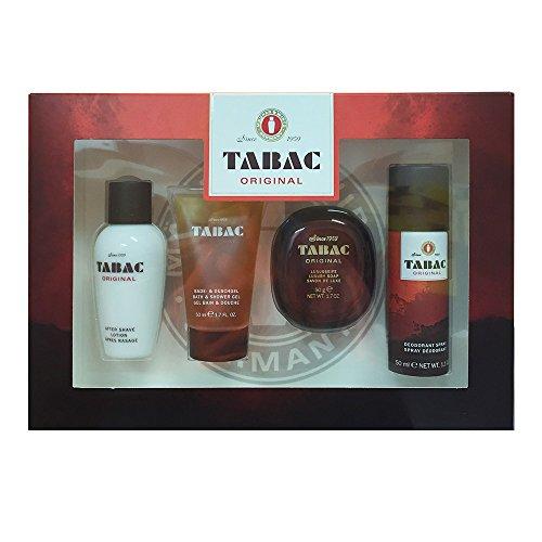 Tabac Original Geschenkset 4-tlg 50 ml Aftershave