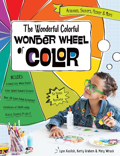 The Wonderful Colorful Wonder Wheel of Color: Activities, Stickers, Poster & More Fixed Format (English Edition)
