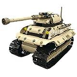 FunTomia Mould King RC Technik – 497 componentes – Tanque de caza de bloques de construcción – Vehículo teledirigido de bloques de sujeción
