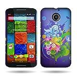 Motorola Moto X (2nd Generation) Case, by CoverON Floral Burst Design Case Protective Cover for Motorola Moto X (2nd Gen.) 2014