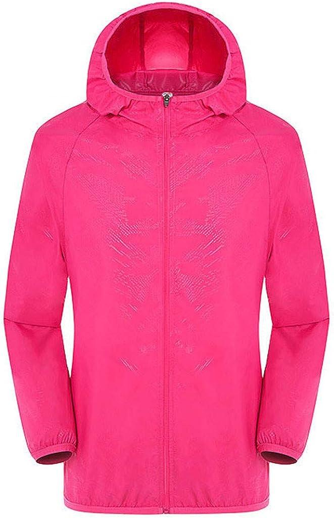 ZEFOTIM Waterproof Deluxe Soldering Raincoat Jacket Men's Women W Casual Jackets