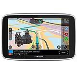 TomTom Car Sat Nav GO Premium 5 Inch with Updates via WiFi, Traffic and Speedcam Warnings via SIM Card, World Maps, Last Mile Navigation and IFTTT