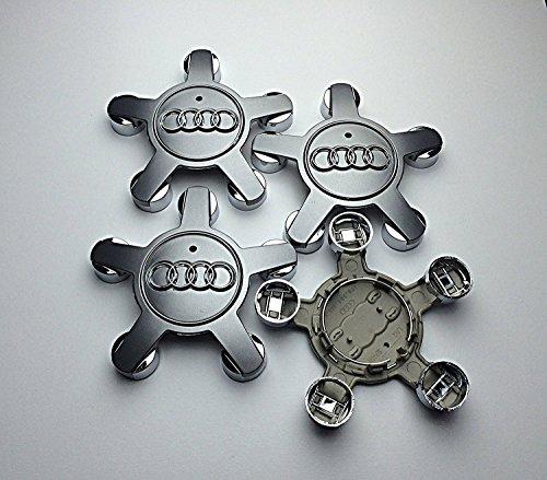 Radkappen Center Hub Caps 5 Speichen Abdeckungen Abzeichen 134 mm Passend für