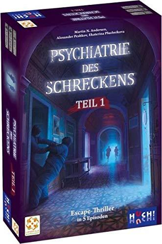 HUCH! Psychiatrie des Schreckens Box 1 Exit-Game
