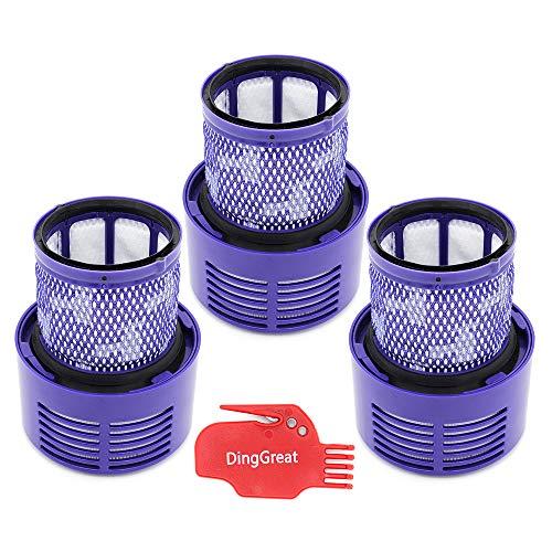 classement un comparer Dyson V10 Series V10 Ding Great Pack de 3 filtres de remplacement pour Absolute, Animal et Total…
