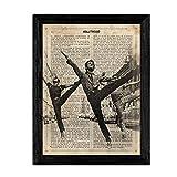 Nacnic Poster West Side Story. Vintage Stil Poster von
