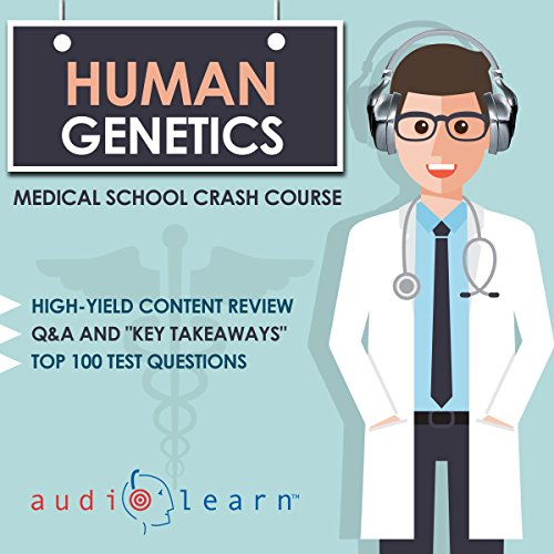 Human Genetics audiobook cover art