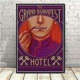 Newgeli Vintage Poster Das Grand Budapest Hotel Film
