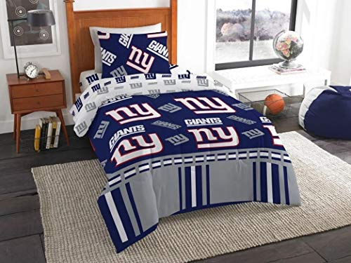 The Northwest Company NFL New York Giants Bed in a Bag Complete Bedding Set, Twin #383376811