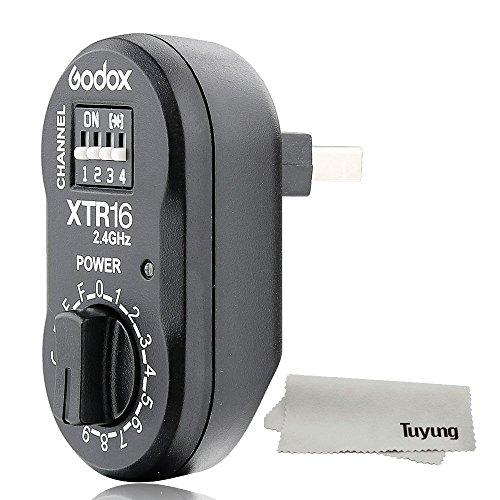 Godox XTR-16 受信機 ワイヤレス 2.4G X-システム リモコン フラッシュ レシーバー X1C X1N XT-16 Wistro A...