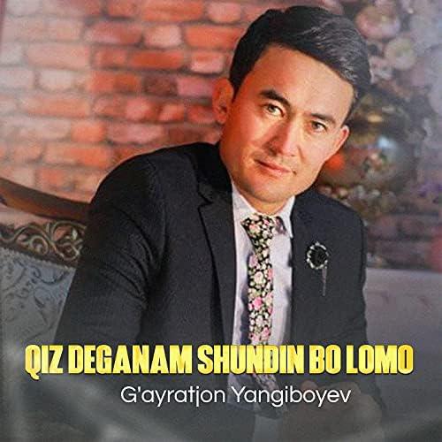 G'ayratjon Yangiboyev