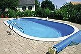 Summer Fun Ovalpool Einbau Komplettset 150 cm Tiefe (SW:0,8 IH:0,6) 525 x 320 x 150 cm