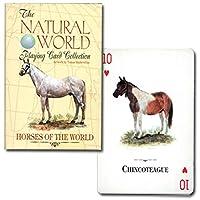 【馬好きな方へのちょっとしたプレゼントに♪】トランプ ナチュラル・ワールド 世界の馬