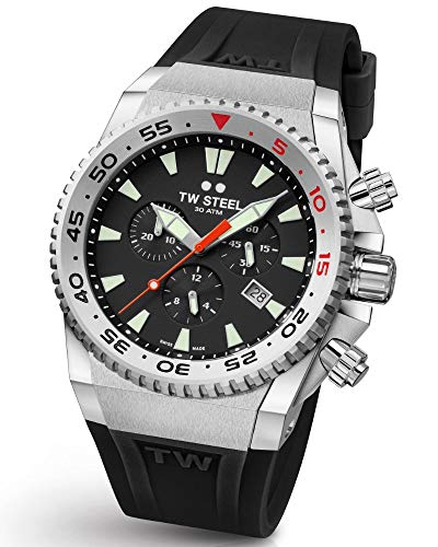 TW Steel ACE400 Diver Swiss Chronograaf Limited Edition horloge 44mm