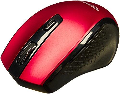 AmazonBasics Ergonomic Wireless PC Mouse