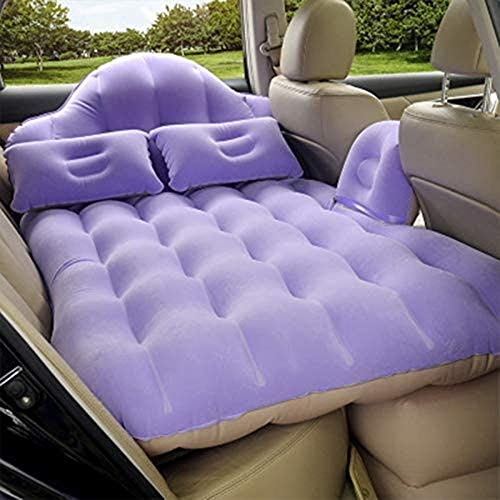 HongLianRiven Reisbed Auto Opblaasbaar Bed Auto Zelfrijdend Opblaasbaar Bed Achterrij Outdoor Reizen Bed Auto Opblaasbare Matrassen 5-4