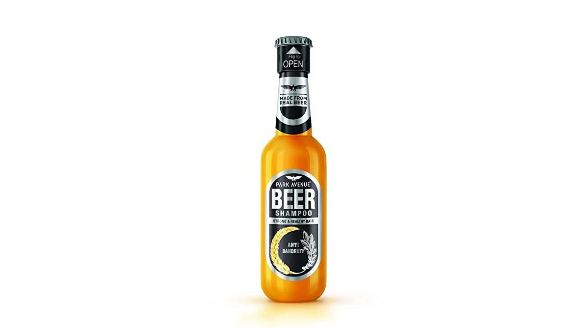 親密な準備ができて召喚するPark Avenue ANTI DANDRUFF Beer shampoo 180ml - For Men