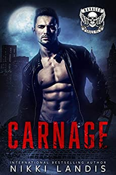 Carnage: NightBorne (Ravaged Souls MC Book 1) by [Nikki Landis]