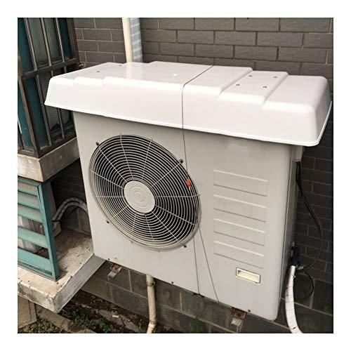 LSXIAO Al Aire Libre Unidades De Aire Acondicionado Cubrir Equipo, Cáscara De PVC, Fijado con 2 Cables De Acero Impermeable A Prueba De Polvo Anti-UV para Aire Acondicionado Split