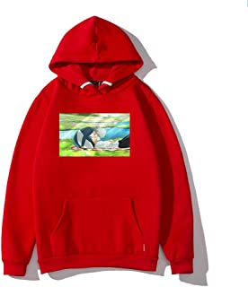 MLX-BUMU Neutral Man Boy Sweater Hoodie Sudadera con Capucha Ropa para Adultos Anime Manga Print Hoodie Casual Loose Coata...