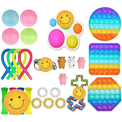 Rpporm Fidget Toy Billig Spielzeug Set Anti Stress...