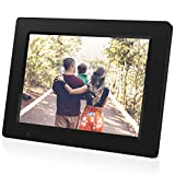 Digital Picture Frame, iDeaPLAY 7.85 inch WiFi Photo Frame, 1024x768 HD Display, 8GB Internal Storage, iPhone & Android App, Support Photo, Music, Calendar with Built-in Speakers
