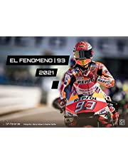 EL Fenomeno | 93 - Marc Marquez - 2021 - kalendarz ścienny - format: DIN A3 | MotoGP