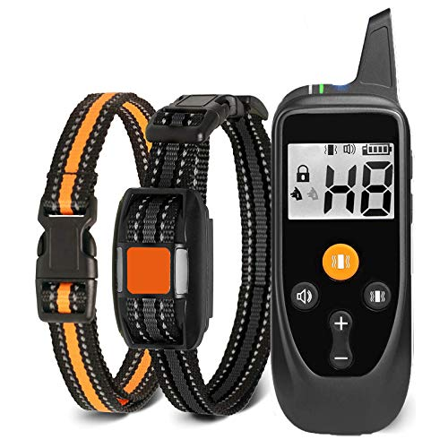 Havenfly Collar de Adiestramiento para Perros sin Descarga Eléctrica, 800M Collare de...