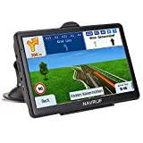 GPS Navigation for Car , Truck 7 Inch 8GB Touch Screen Voice Navigation Vehicle GPS, Speeding Warning, Route Planning, Free Lifetime Maps of USA Canada Mexico