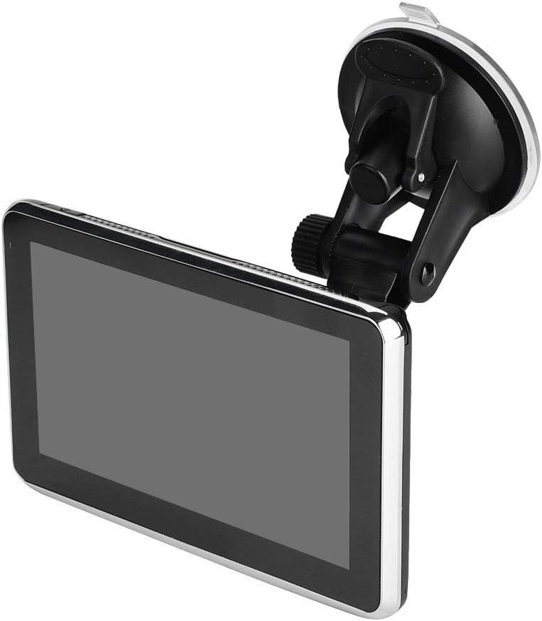 Enrilior GPS 5 Inch Navigation for Car,Universal Touch Screen GPS Navigation DDR256M 8G MP3 FM Europe Map 508