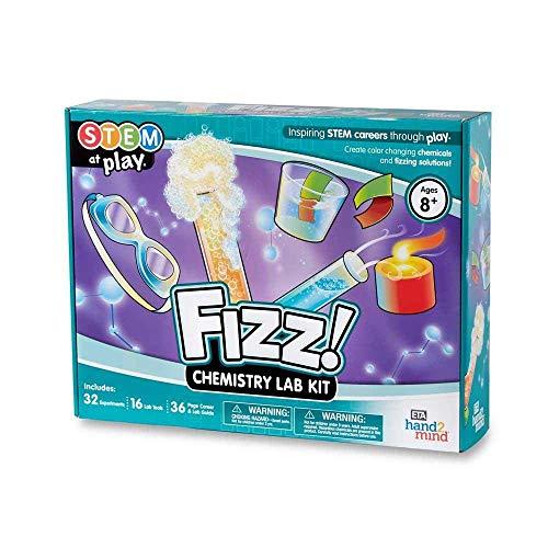 FIZZ! Chemistry Science Kit for Kids (Ages 8+) - Build 32+...