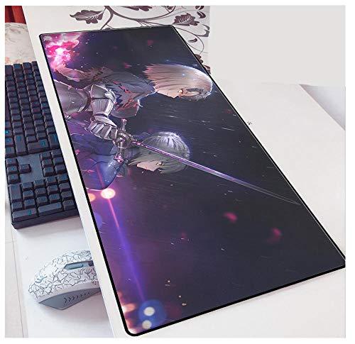 Alfombrilla Sword Net Large 3D para Juegos con una Superficie única, Panel Posterior de Goma Impermeable y tapete Antideslizante-6 6_900 * 400 * 3