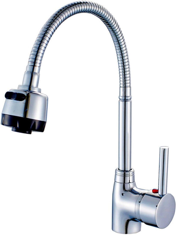 ETERNAL QUALITY Badezimmer Waschbecken Wasserhahn Messing Hahn Waschraum Mischer Mischbatterie Tippen Sie auf Küche Wasserhahn voll Kupfer kalt und warmes und Kaltes Wass
