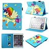 SevenPanda Coque Galaxy Tab A 7.0 Coque SM-T280/SM-T285 Housse Smart Folio Coque, Auto...
