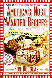 """A photo of a book called \""""America's Most Wanted Recipes: Delicious Recipes from Your Family's Favorite Restaurants\"""""""