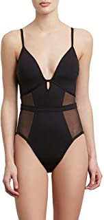 Kenneth Cole New York Women's Front Keyhole One Piece Swimsuit