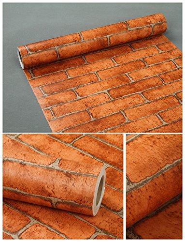 Visario 10 m x 45 cm Tapeten Folie 3000-S Art. 3006 selbstklebend Verschiedene Motive Steinoptik Steine Dekorfolie Möbelfolie Tapete