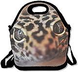 Leila Marcus Cool Reptile Gecko Lagarto Bolsa de almuerzo, bolsa de almuerzo impresionante para la escuela, trabajo al aire libre