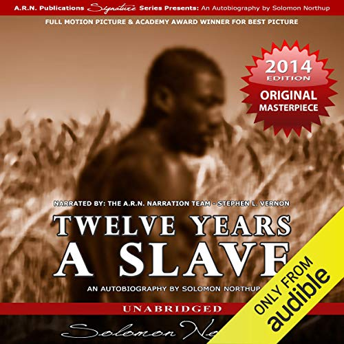 Page de couverture de Twelve Years a Slave