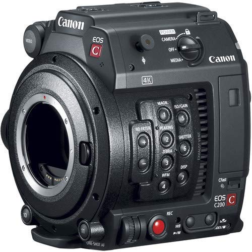Best Deals! Canon EOS C200B Cinema Camera (Body Only) (EF-Mount) International Model Open Box