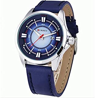 Curren Casual Fashion Watch For Unisex, Blue