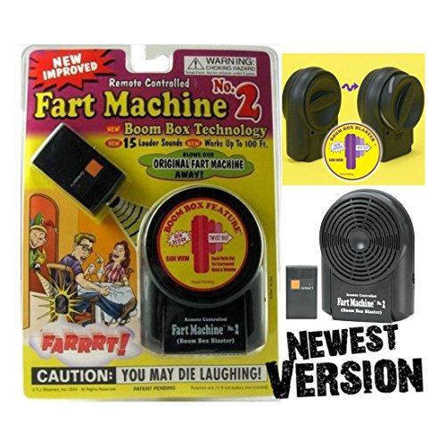 Unbranded Fart Machine No. 2 - Wireless Remote Controlled Newest Improved Model Avail Now!