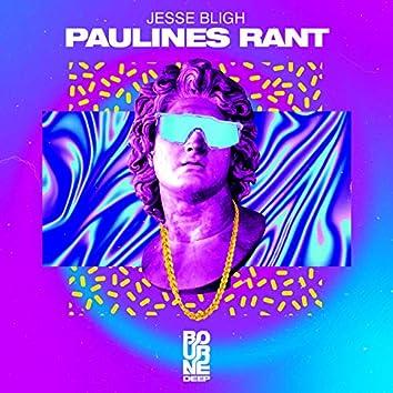 Pauline's Rant