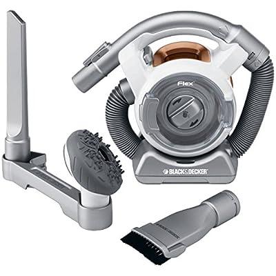 BLACK+DECKER FHV1200W Cordless Mini Canister Vacuum Cleaner