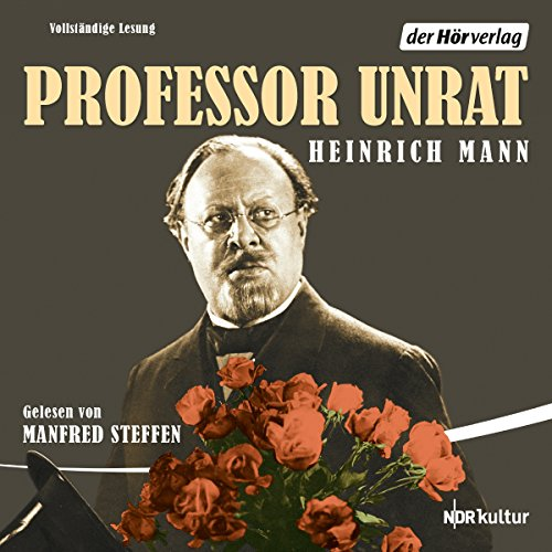 Professor Unrat audiobook cover art