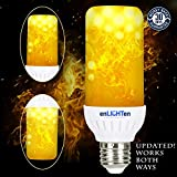 enLIGHTen LED Flame Effect Light Bulb (1 Pack)