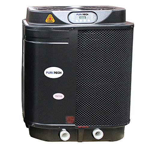 Puri Tech Quiet Heat 127,000BTU Pool Heat Pump with Optimizer